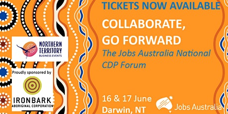 Collaborate, Go Forward: The Jobs Australia National CDP Forum tickets