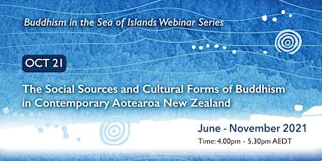 Buddhism in the Sea of Islands Webinar Series - October webinar billets