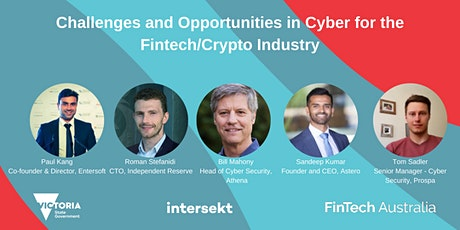 Challenges and Opportunities in Cyber for the Fintech/Crypto Industry tickets