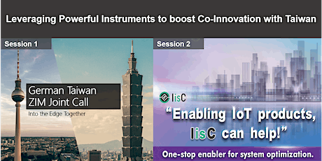 【Webinar】Leveraging Powerful Instruments to boost Co-Innovation with Taiwan ingressos