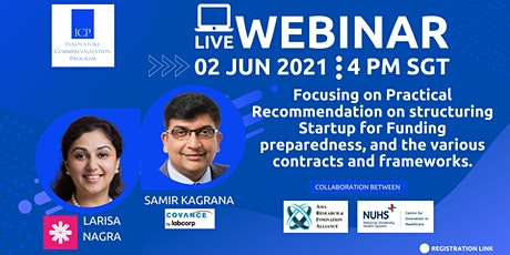 Focusing on Practical Recommendation on Structuring Startup for Funding tickets