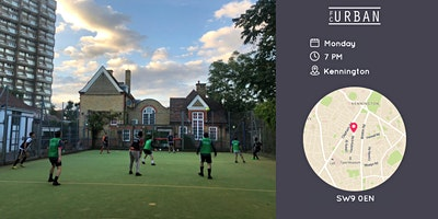 FC Urban Futsal LDN Mon 10 May Kennington