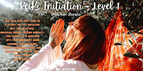 Reiki Initiation Journey - Level One tickets