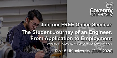 The Student Journey of an Engineer, From Application to Employment tickets