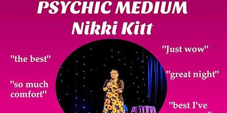 Evening of Mediumship with Nikki Kitt - Bridgwater tickets