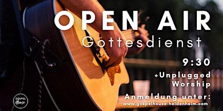 9.30 Uhr Open Air Gottesdienst am 9. Mai Tickets