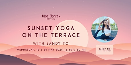 Sunset Yoga on the Terrace with Sandy tickets