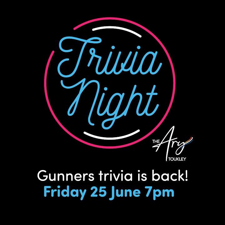 Gunners Trivia Night image
