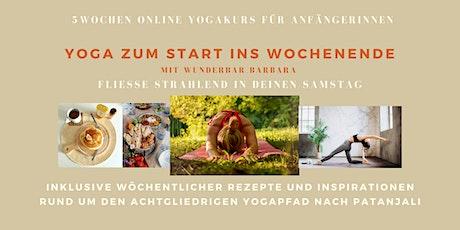 5 Wochen AnfängerInnen Yogakurs - Yoga zum Start ins Wochenende Tickets