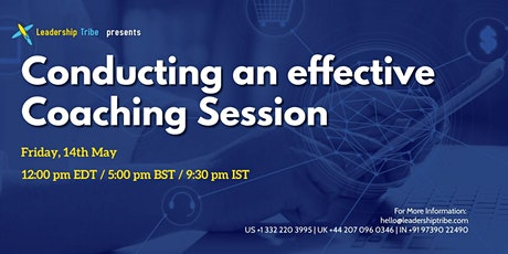 Conducting an effective Coaching Session  - 140521 - Switzerland tickets
