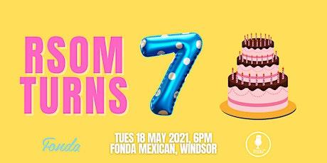 RSOM Networking Night #5 2021 // Celebrating 7 Years of RSOM! entradas