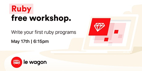 [Free workshop] Introduction to Ruby Programming Language tickets