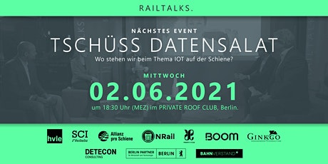 RAILTALKS. am 2. Juni Tickets