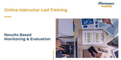 Training on Results-Based Monitoring and Evaluation tickets