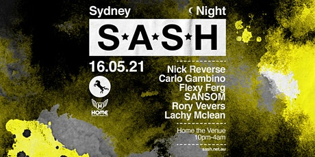 ★ S*A*S*H by Night	 ★ Nick Reverse ★ tickets