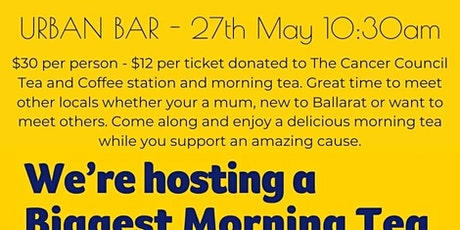 Australia Biggest Morning Tea @ The Robin Hood Hotel tickets