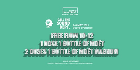 2 HOURS FREE FLOW @ Sound Department tickets