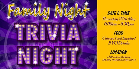 Family Trivia Night tickets