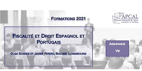 Fiscalité et Droit Espagnol et Portugais tickets