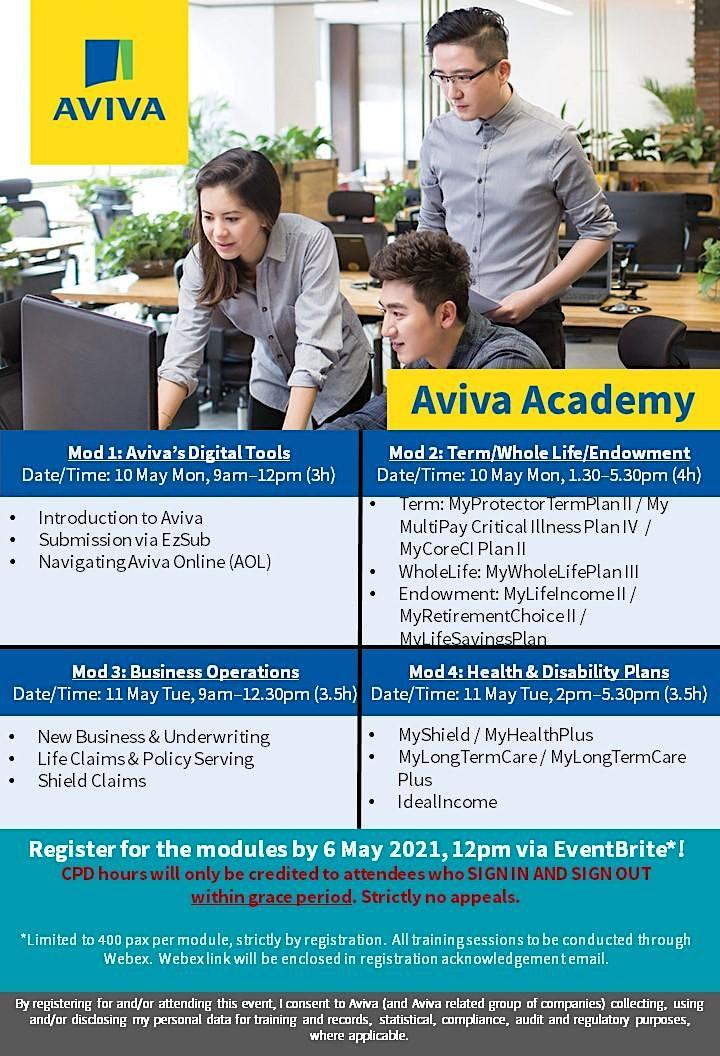 Aviva Academy (10 May 2021) Module 2 - Term/Whole Life/Endowment image