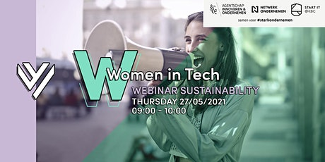 Women in Tech — IMPACT SESSION on Sustainability tickets