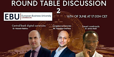 Blockchain, Cryptocurrencies, Smart Contracts, CBDC, and more... tickets