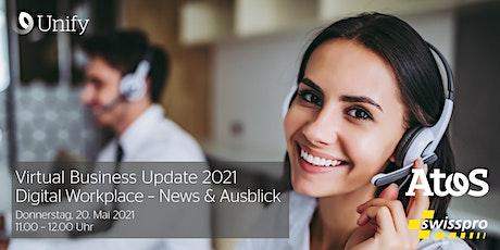 Virtual Business Update 2021: Digital Workplace – News & Ausblick Tickets