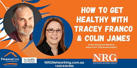 How to Get Healthy in Business - NRG Networking tickets