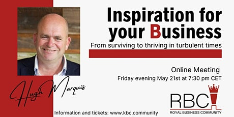 Inspiration for your business and ministry tickets