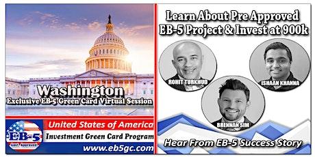 Washington EB-5 American Green Card Virtual Market Series tickets