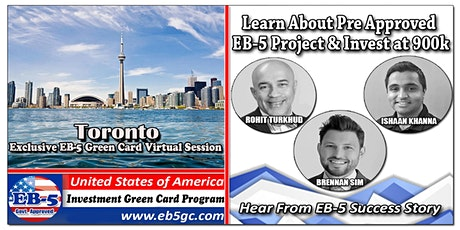 Toronto EB-5 American Green Card Virtual Market Series tickets