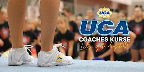 UCA Coaches Kurs - Richtig auswählen - Levels und Skills Tickets