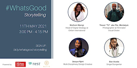What's Good: StoryTelling tickets