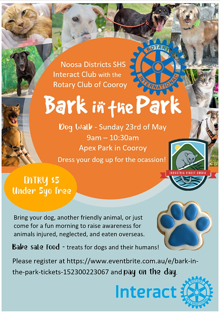 Bark in the Park image