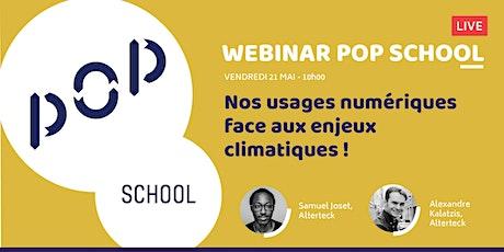 Webinar - Nos usages numériques face aux enjeux climatiques ! billets
