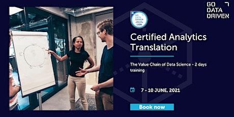Certified Analytics Translation Training tickets