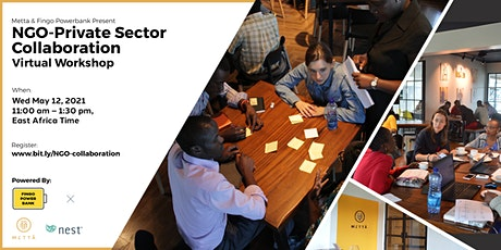 Design Thinking Workshop On Collaboration Between NGOs & The Private Sector tickets
