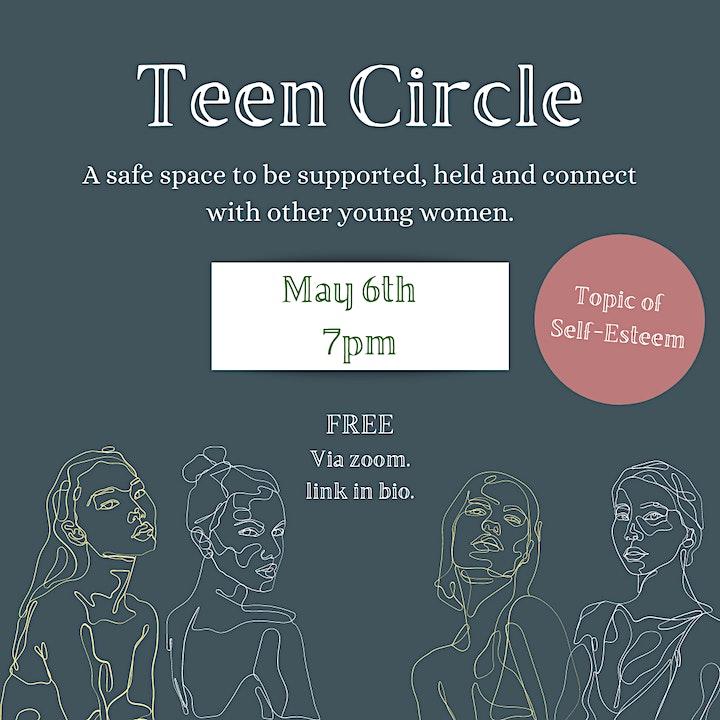 Teen Sharing Circle image