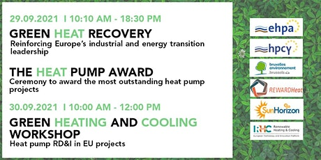 Heat Pump Forum and Award Ceremony / Green Heating & Cooling workshop billets