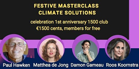 Festive Masterclass Climate Solutions tickets