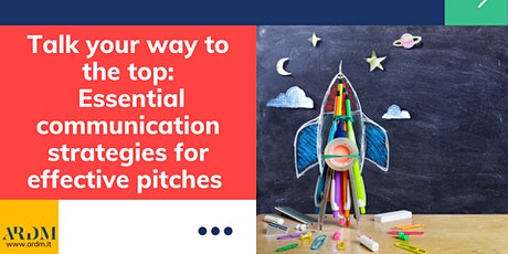 Workshop for Startups: Communication strategies for effective pitches tickets