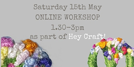 Hey Craft! 2021  Sew your own Dorset Button Posy Brooch tickets