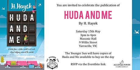 Book Launch: Huda and Me tickets