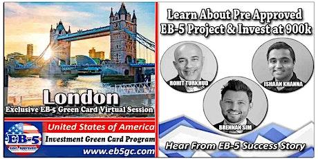 London EB-5 American Green Card Virtual Market Series tickets