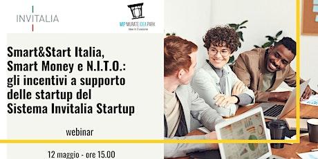 Le agevolazioni per startup del Sistema Invitalia Startup biglietti