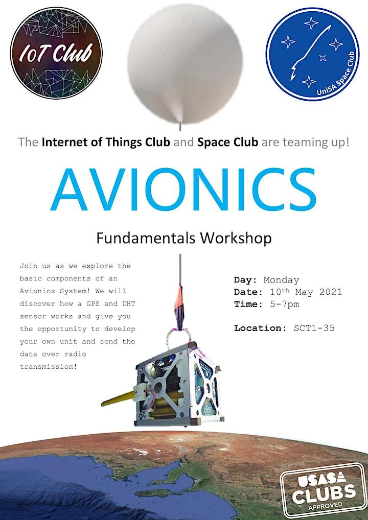 IoT Club and Space Club Workshop - Avionics Fundamentals image