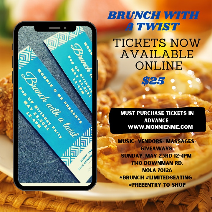Brunch with a Twist  Pop Up Party image