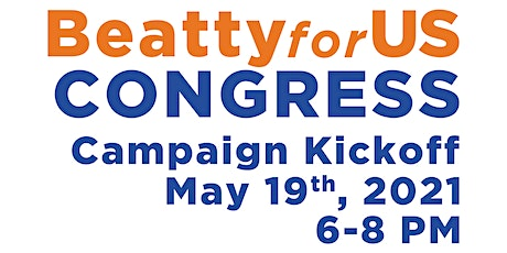 Beatty for US Congress Campaign Kickoff tickets