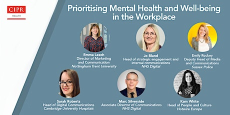 Prioritising Mental Health and Well-being in the work place - insights tickets