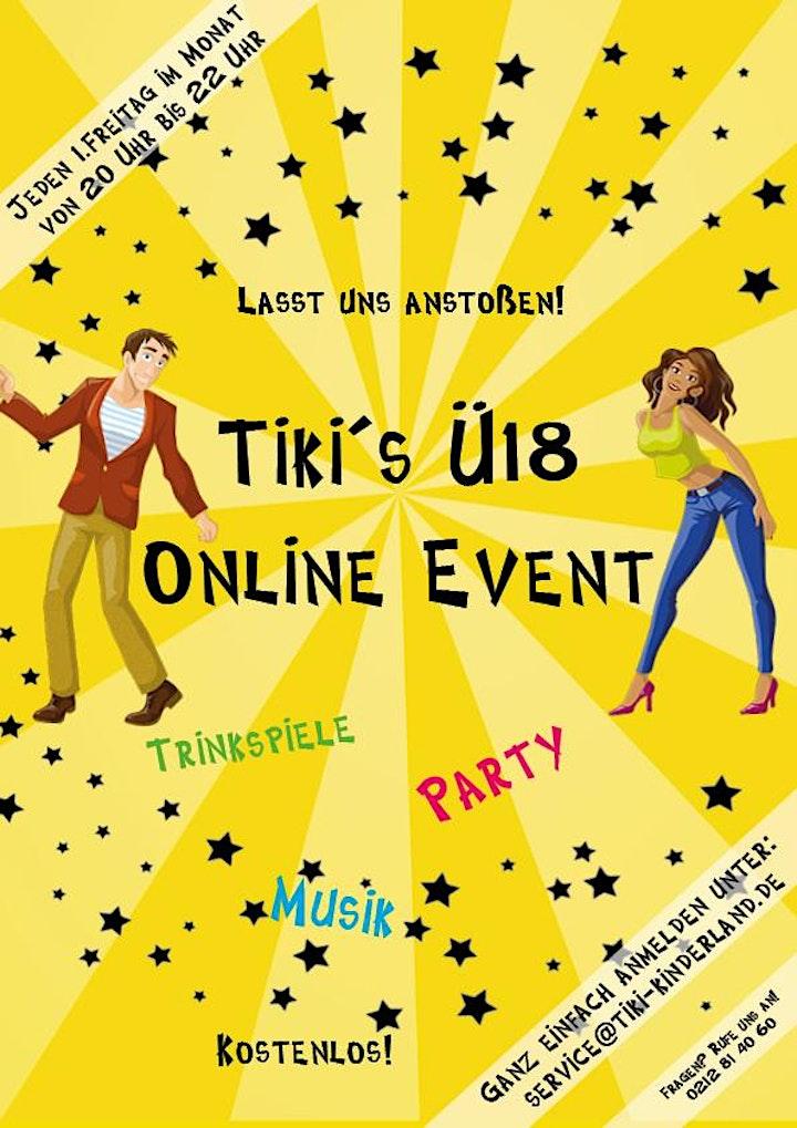 Online Ü18 Event: Bild